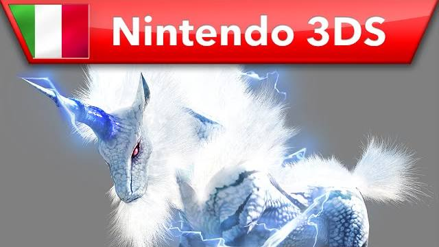 monster hunter 4 ultimate kirin nintendo 3ds