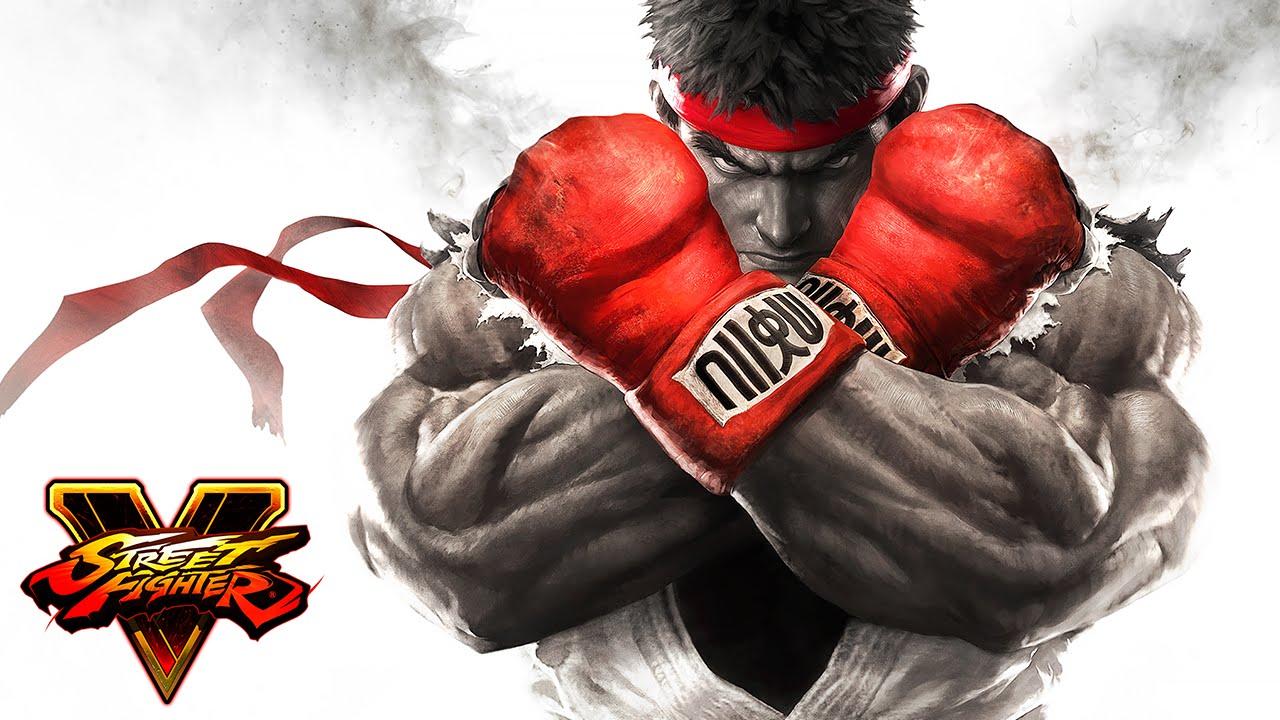 street fighter V artwork