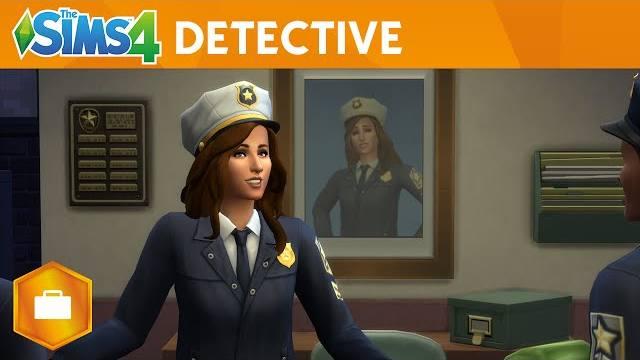 the sims 4 al lavoro il detective