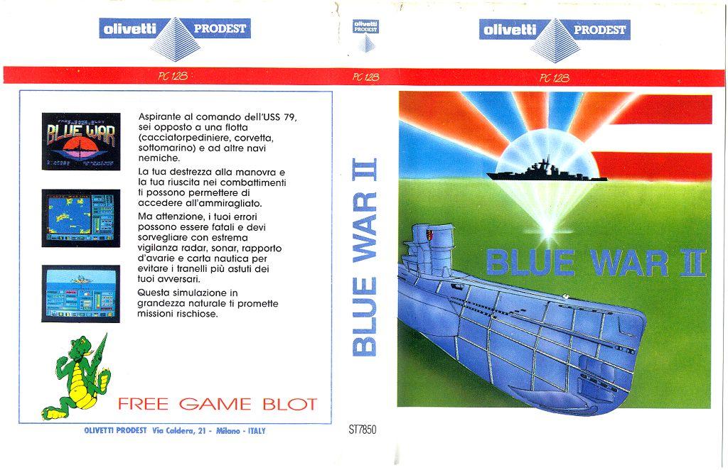 Blue War II copertina