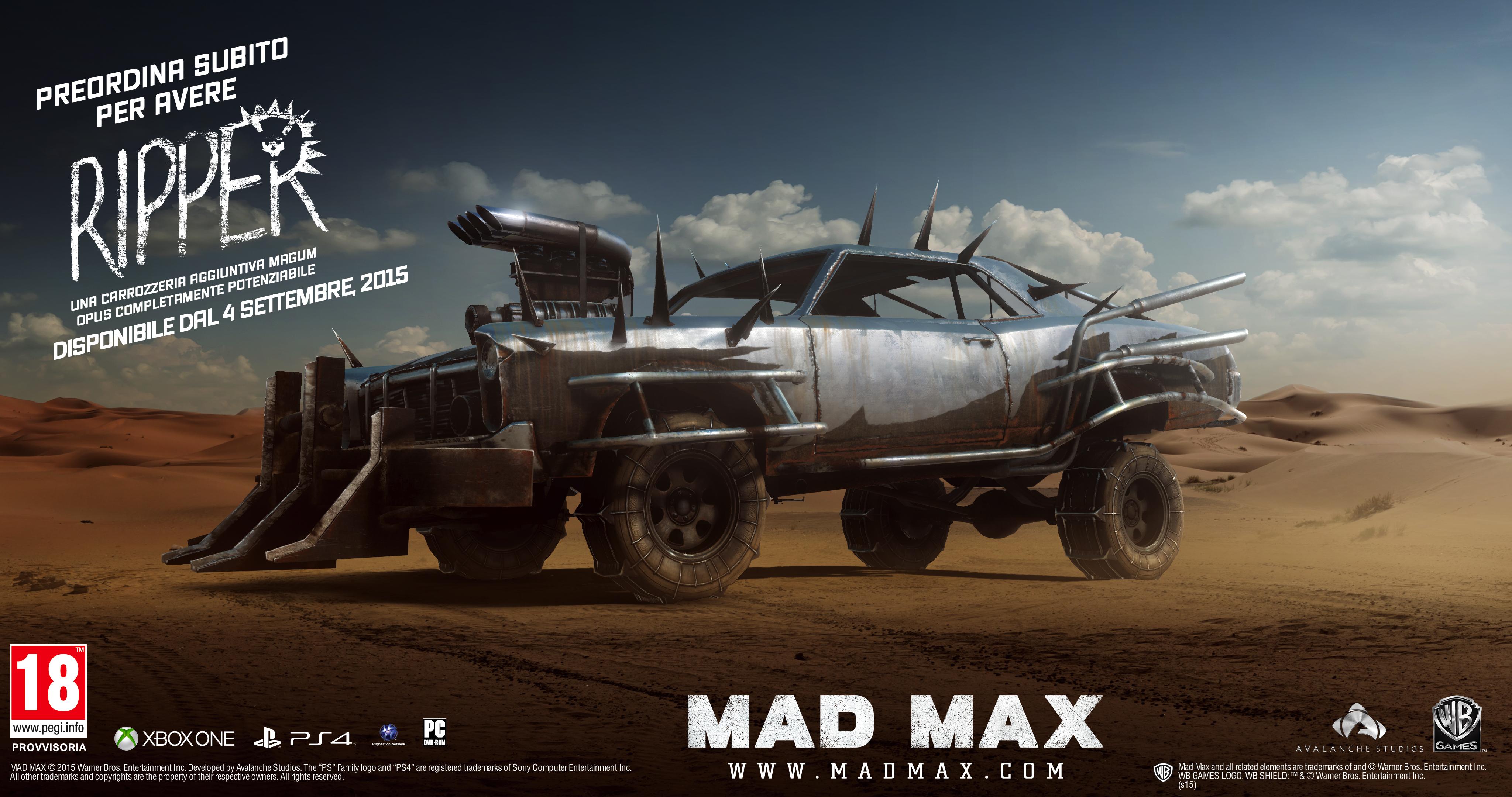 MadMax_Preorder_Ripper_ITA