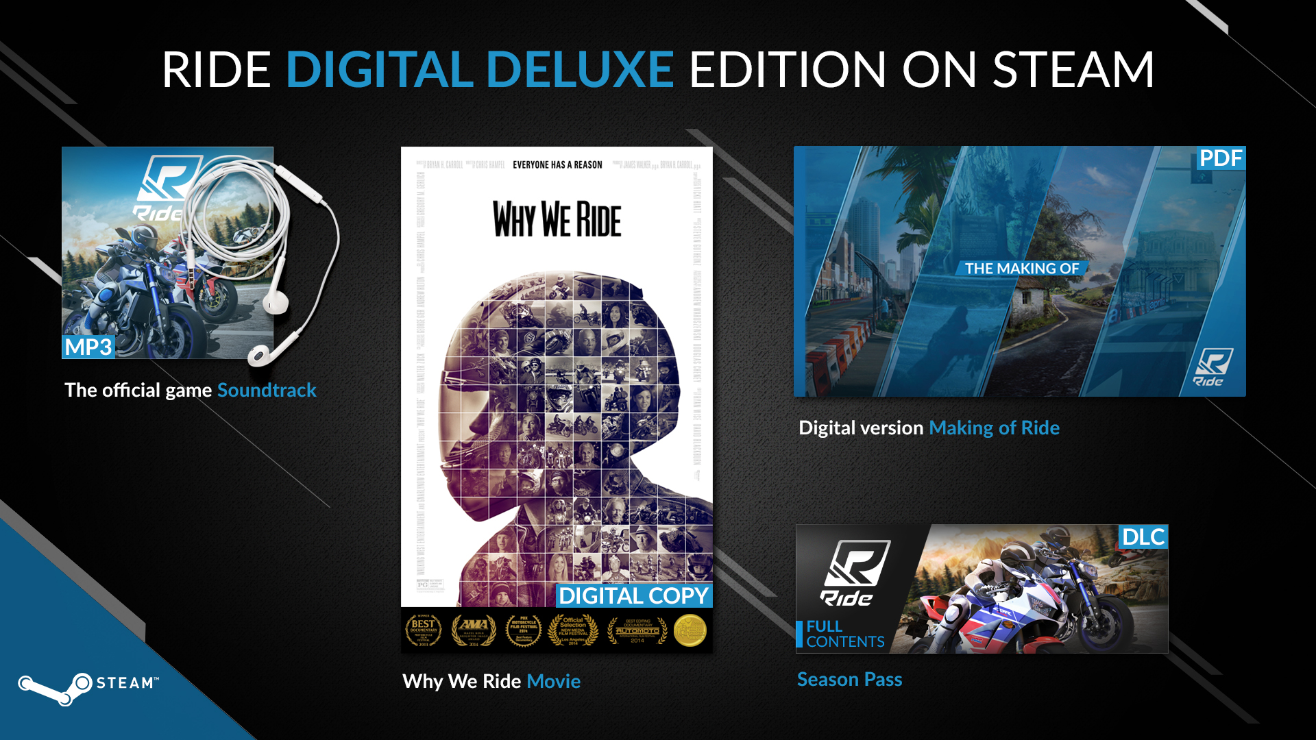 RIDE Digital Deluxe Edition Steam