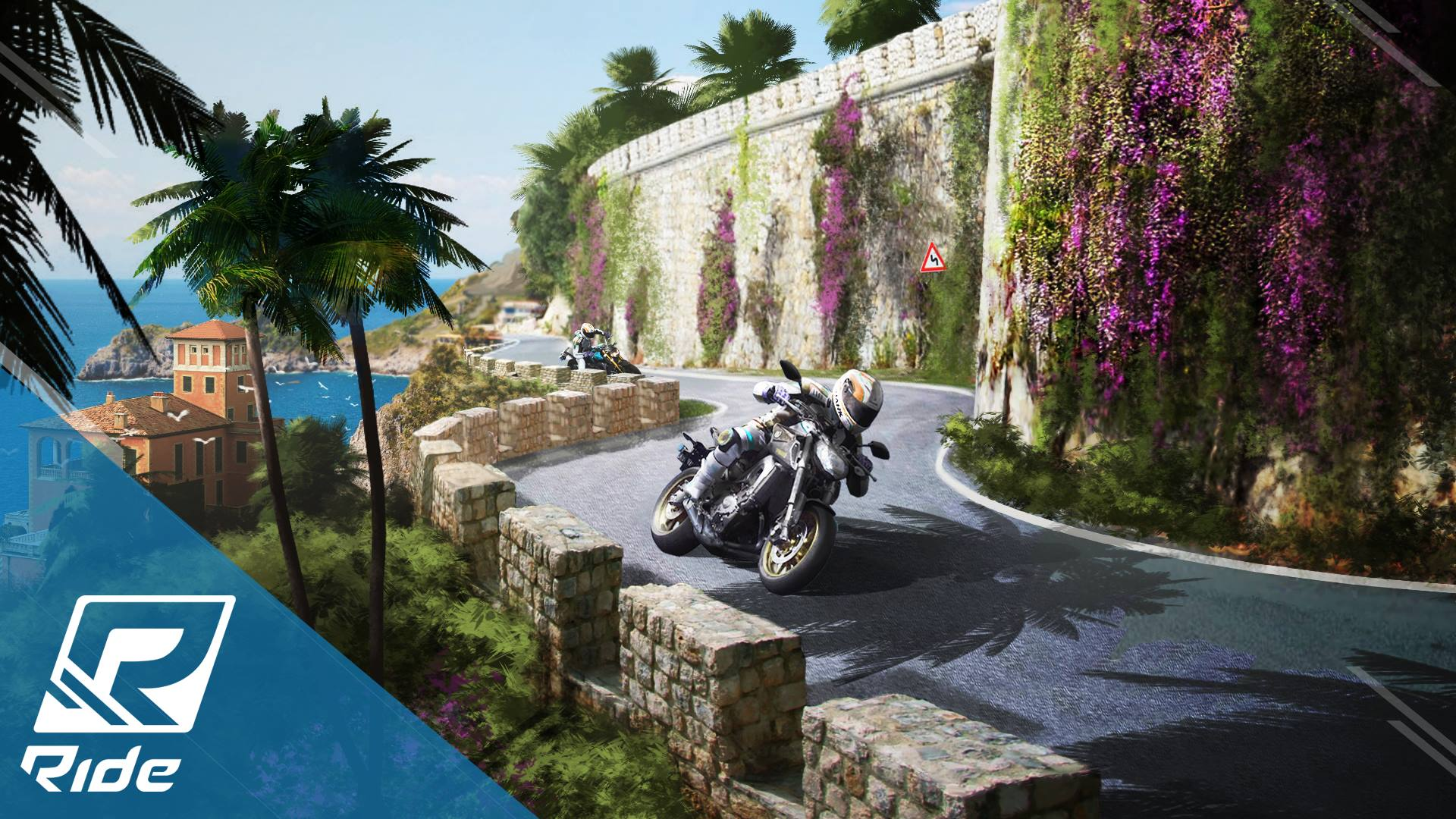 Ride French riviera artwork