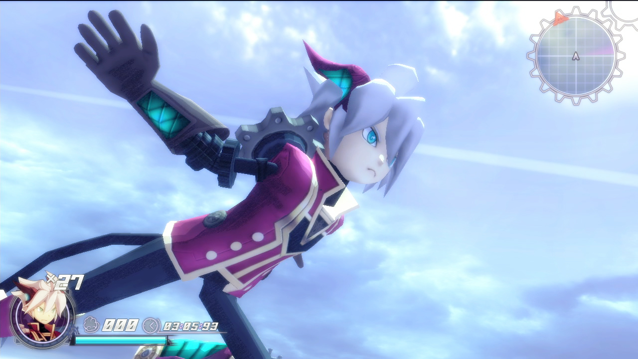 Rodea The Sky Soldier su Wii U