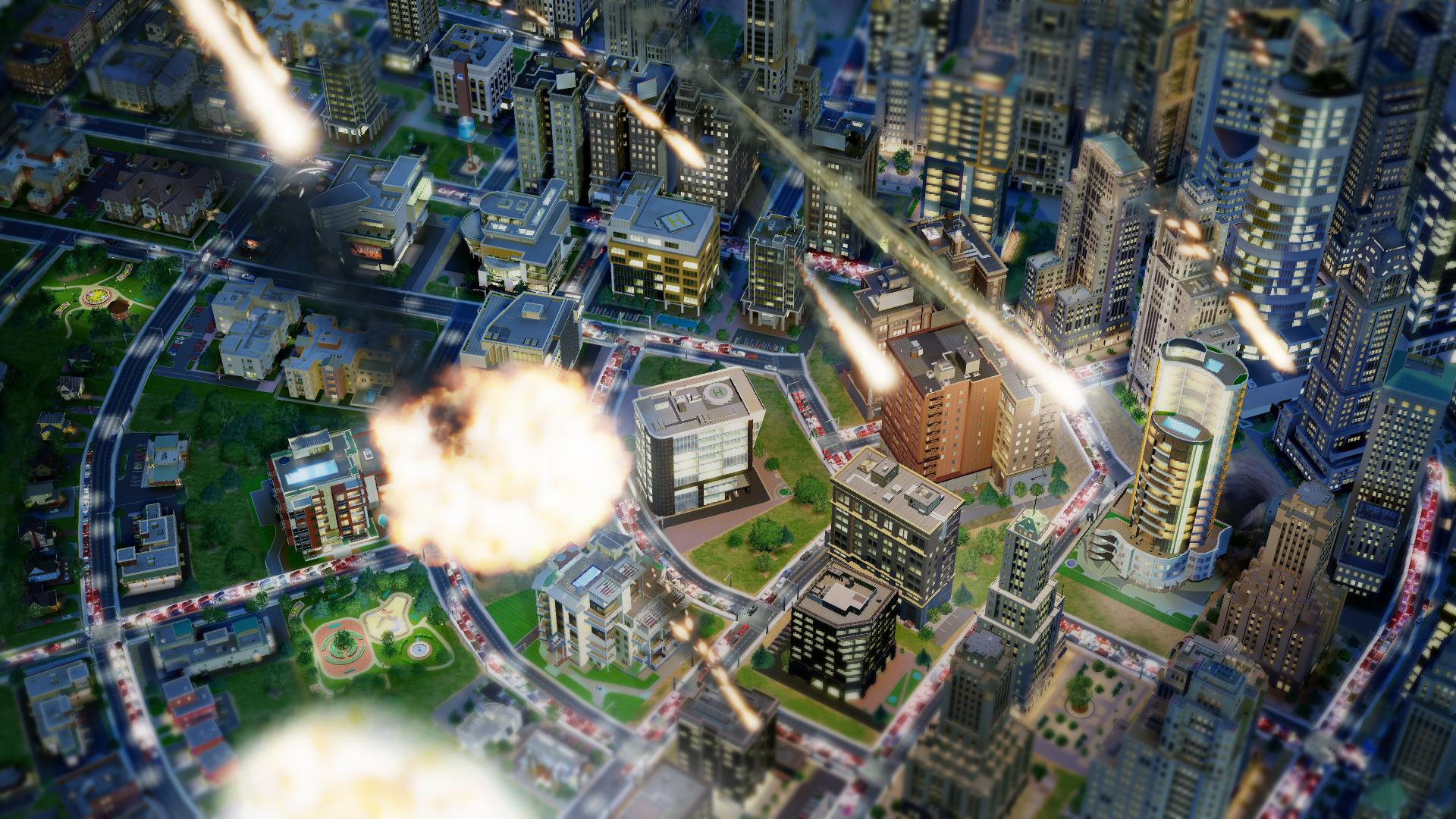 SimCity Meteoriti