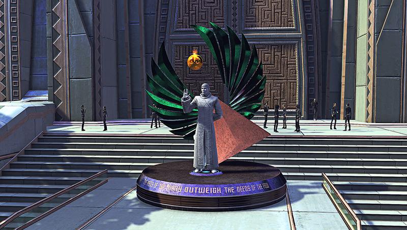 Startrek Online Statua Nimoy 2