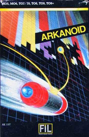 arkanoid pc 128 copertina