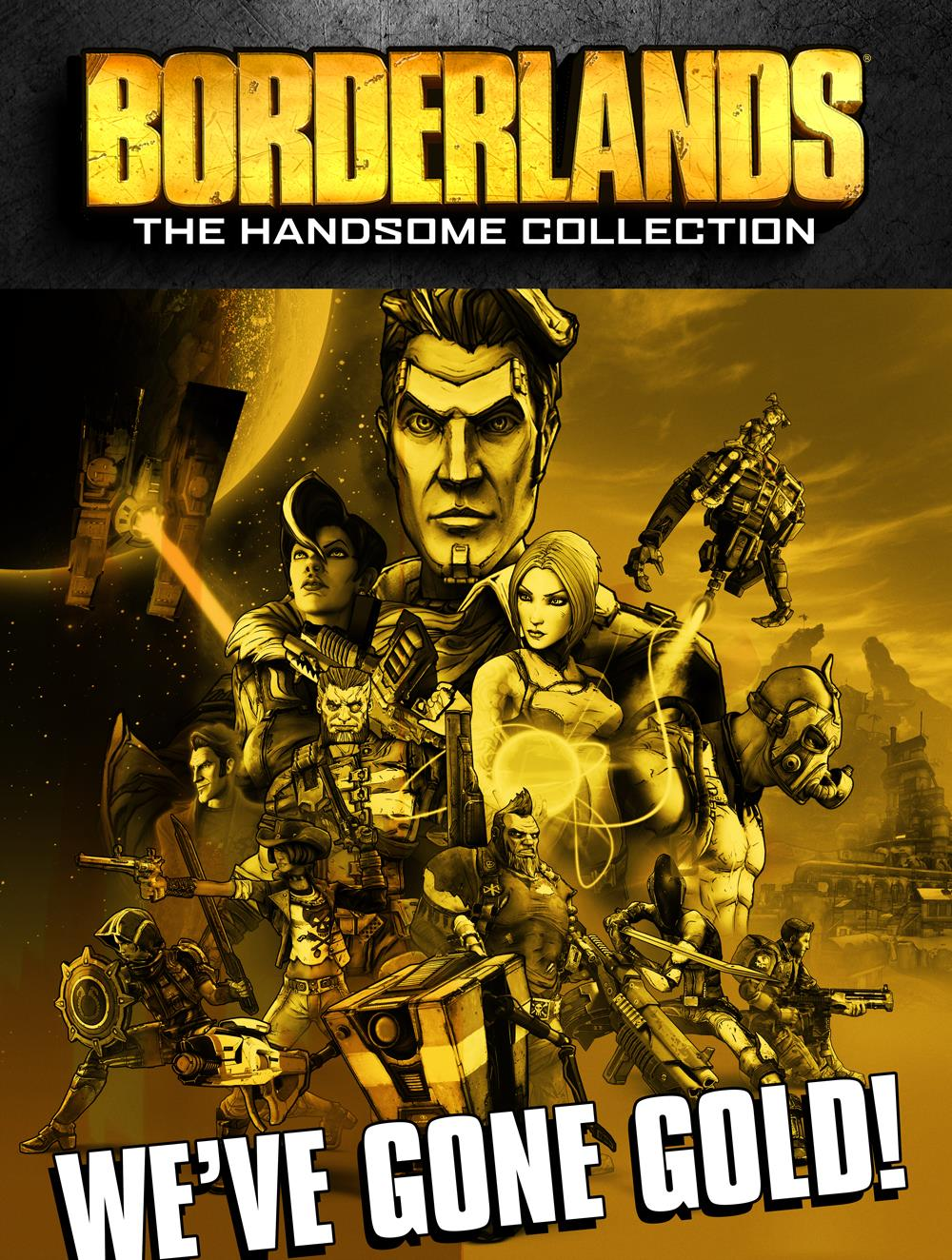 borderlands the handsome collection fase gold