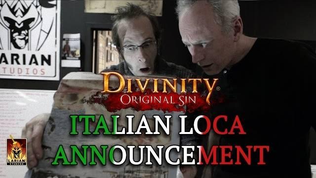 divinity original sin italian localization trailer