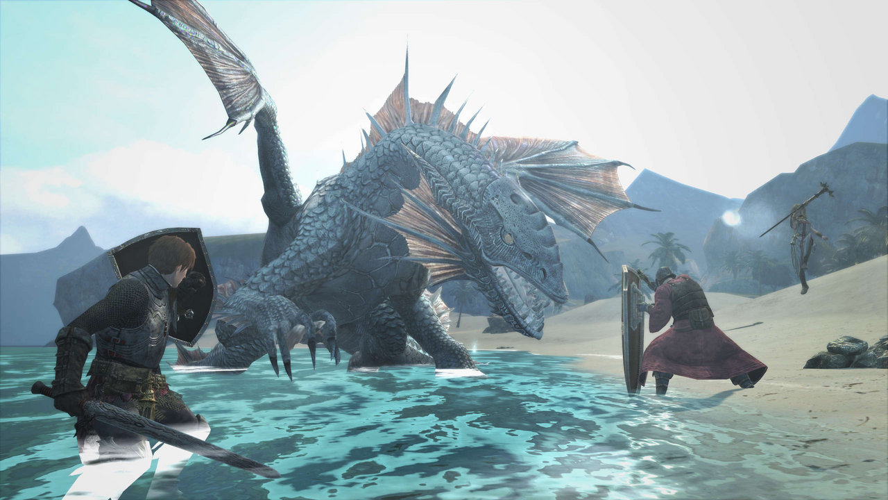 dragons-dogma-online in game