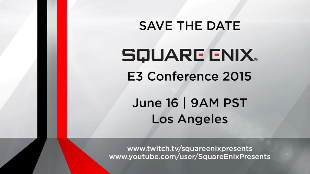 Conferenza Square Enix E3 2015