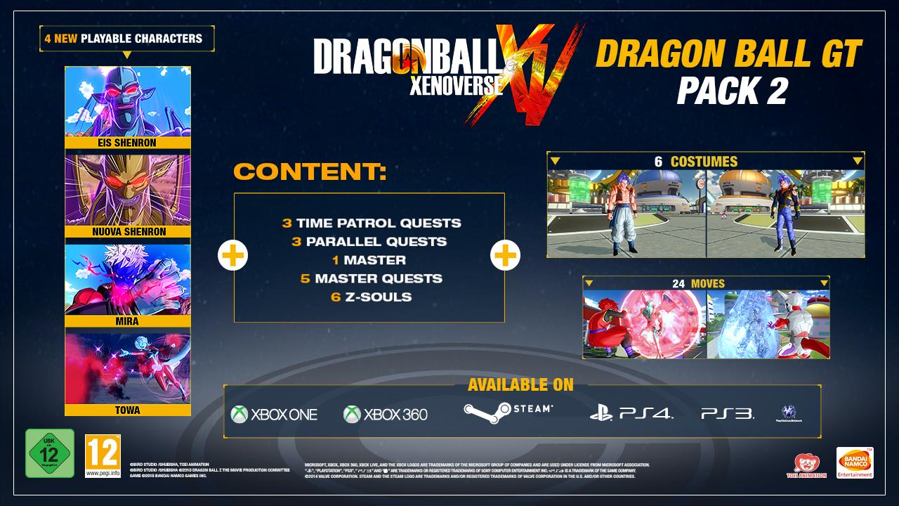 DBXV GT DLC Pack 2b