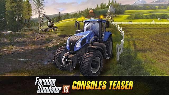 Farming Simulator 15 console version