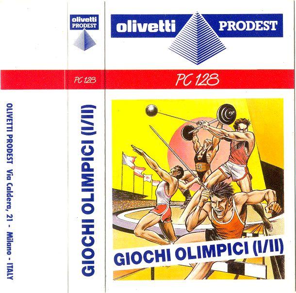 Giochi Limpici IeII Olivetti 128 copertina