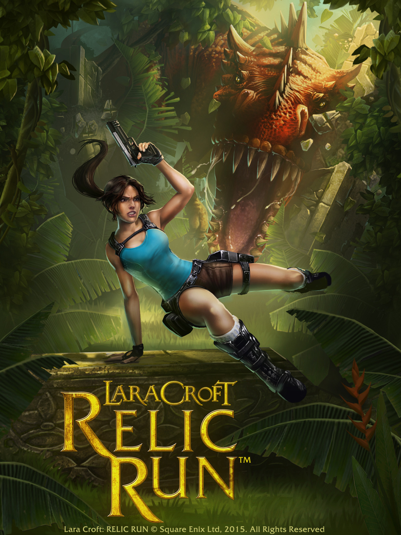 Lara Croft Relic Run 140415 1