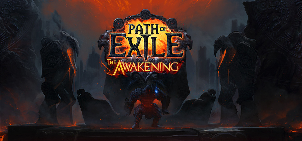 Path of Exile the awakening banner