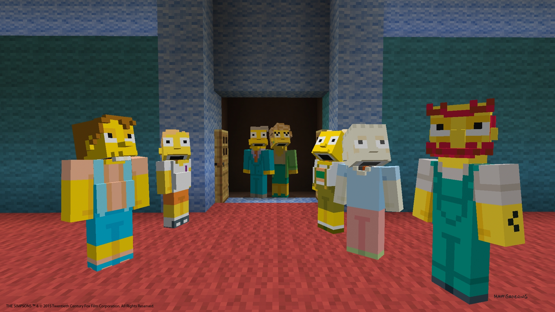 Simpson skin minecraft ps