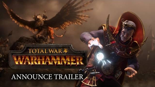 Total War Warhammer trailer d'annuncio
