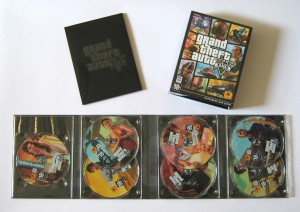 Sette dvd per la versione Pc di Grand Theft Auto V?