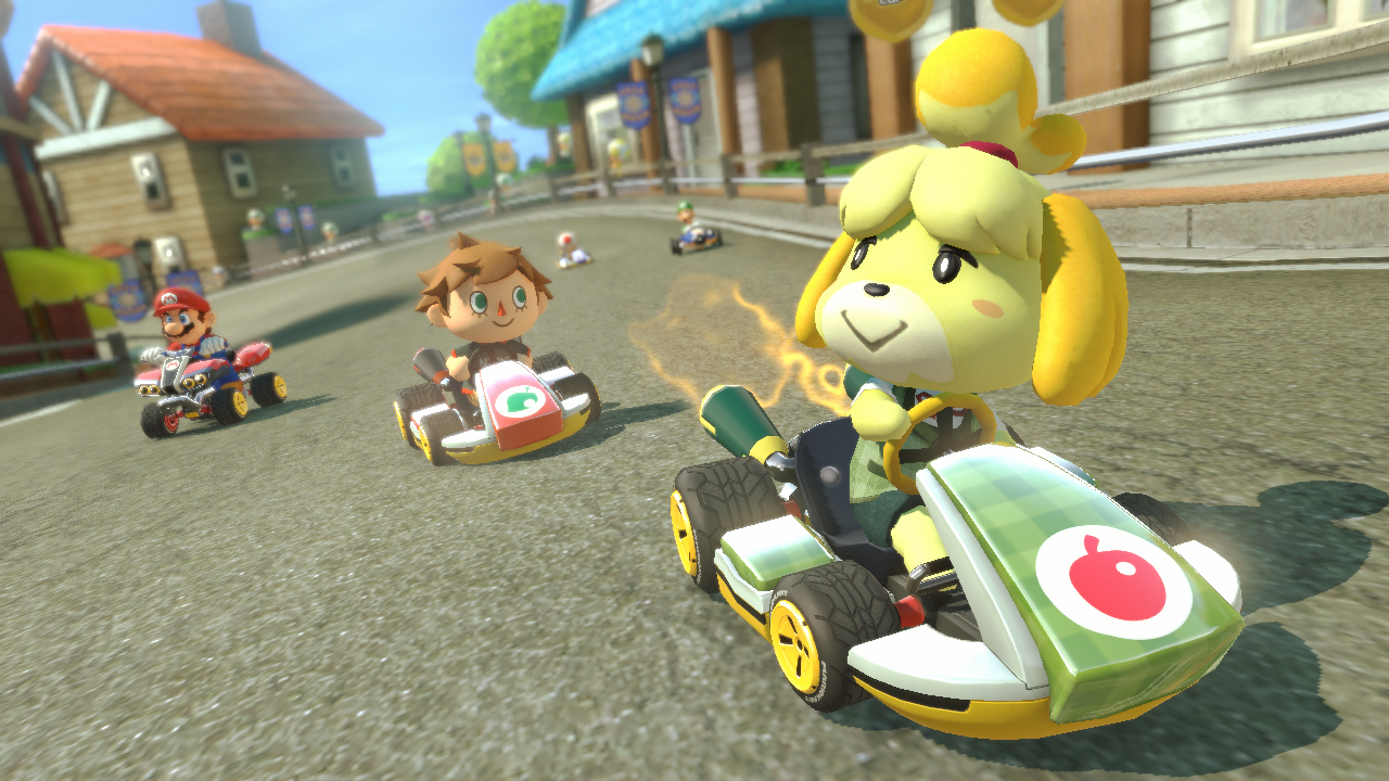 mario kart 8 dlc pack 2 animal crossing