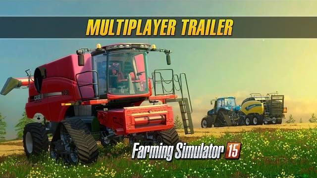 Farming Simulator 15 trailer console