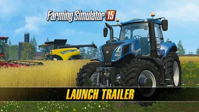 Farming Simulator 15 trailer di lancio console