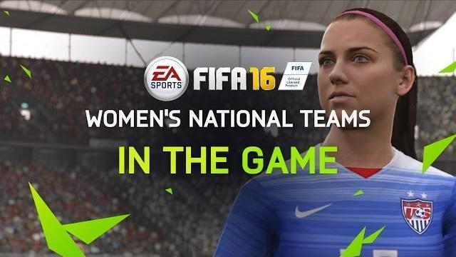 Fifa 16 trailer woman