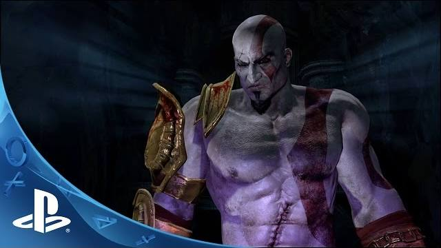 God of War III Remaster Edition PS4 trailer Kratos vs Hades