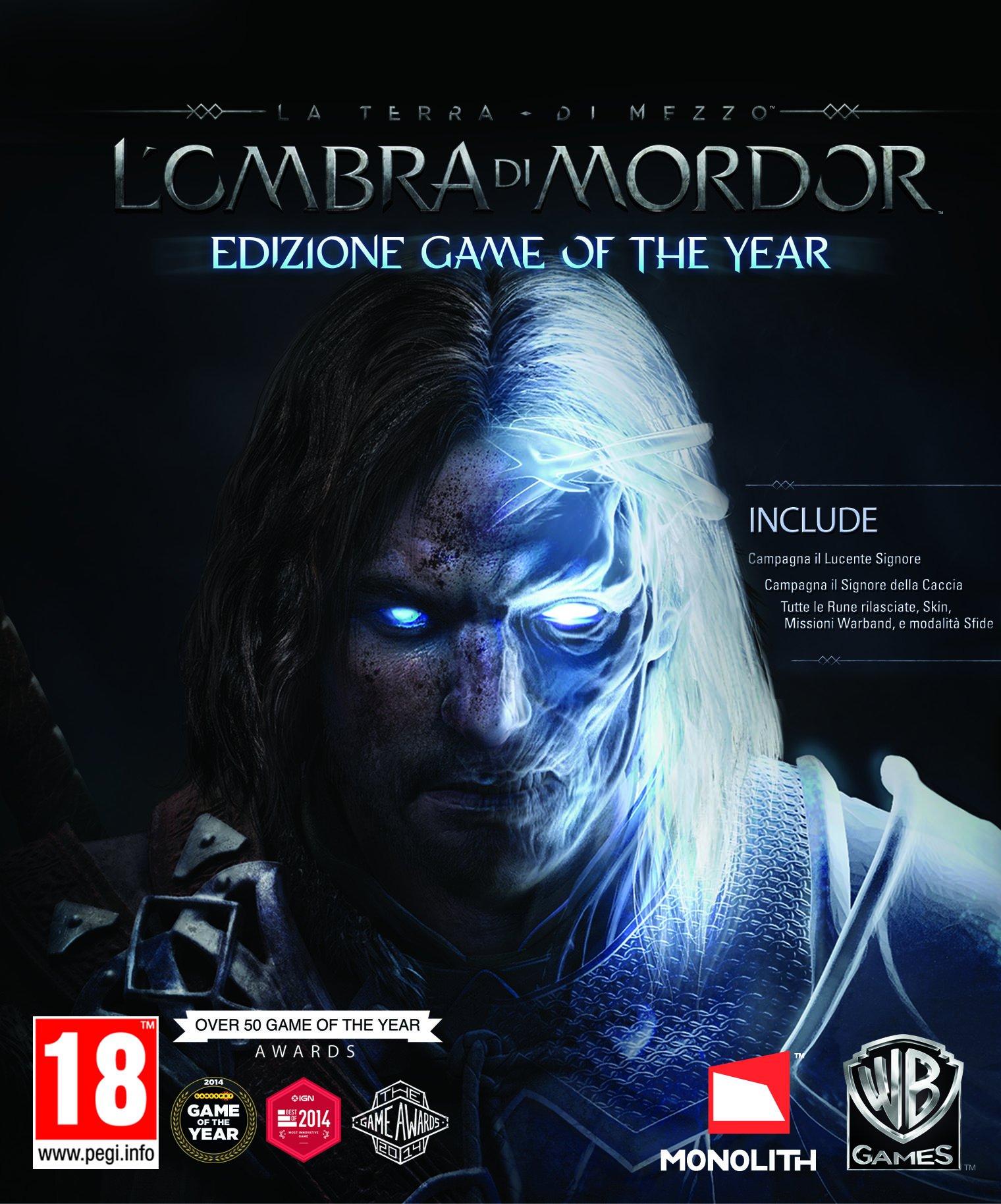 La Terra di Mezzo L'Ombra di Mordor Goty