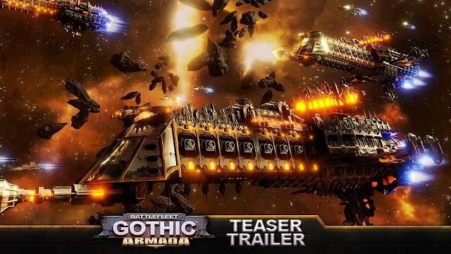 battlefleet gothic armada teaser
