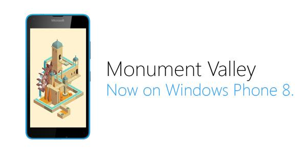 monument valley wphone