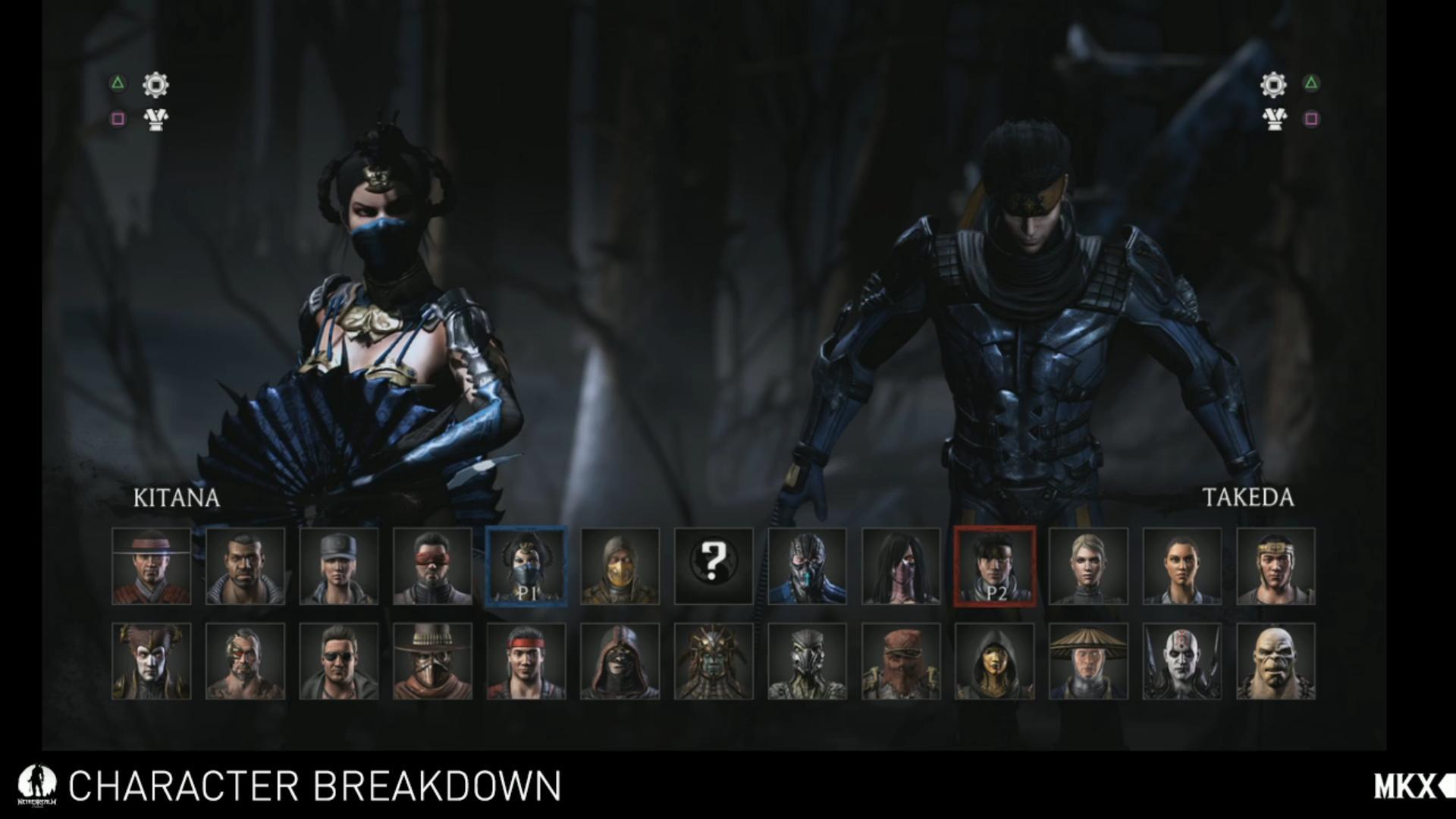 mortal-kombat-x-roster completo