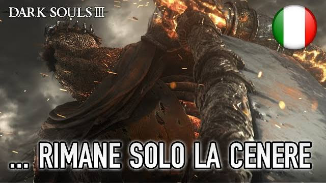 Dark souls III trailer E3 rimane solo cenere