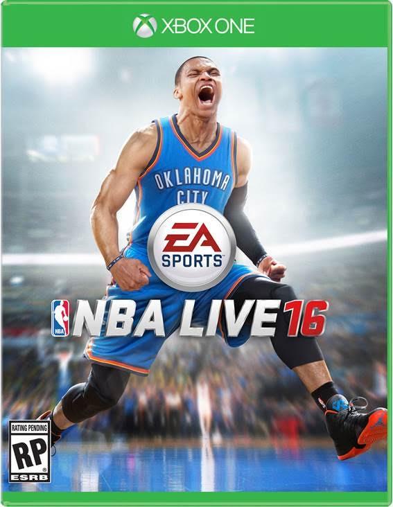 NBA Live 16 copertina