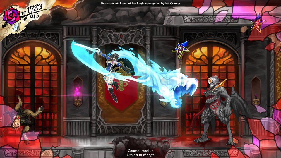 bloodstained in game
