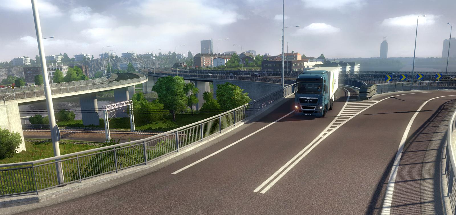 euro truck simulator 2 scandinavia recensione pc. Black Bedroom Furniture Sets. Home Design Ideas