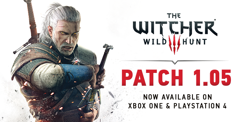 the witcher 3 patch 1.05