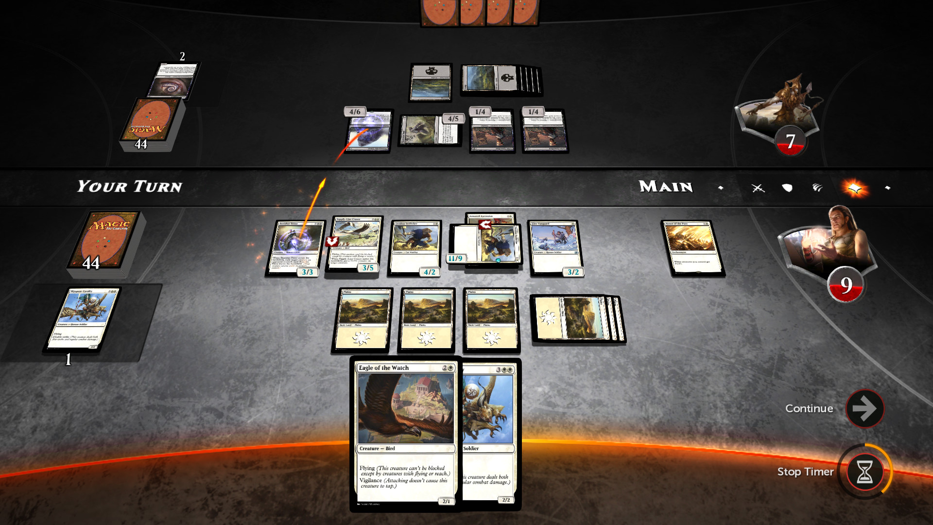 Magic Duels Origins in game