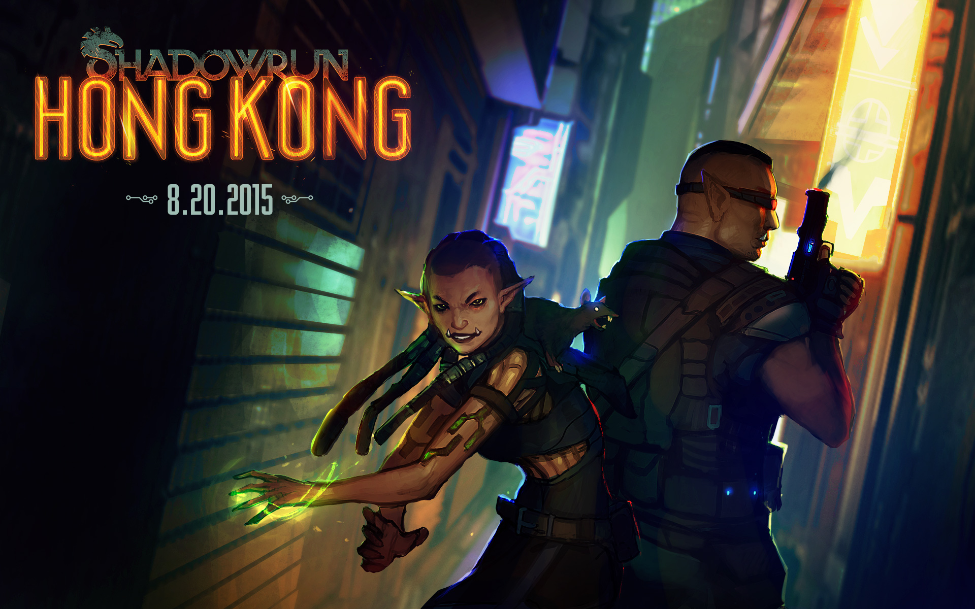 Shadowrun Hong Kong esce il 20 agosto 2015