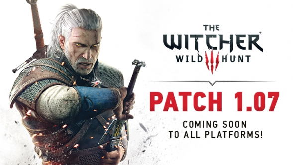 The Witcher 3 patch 1.07