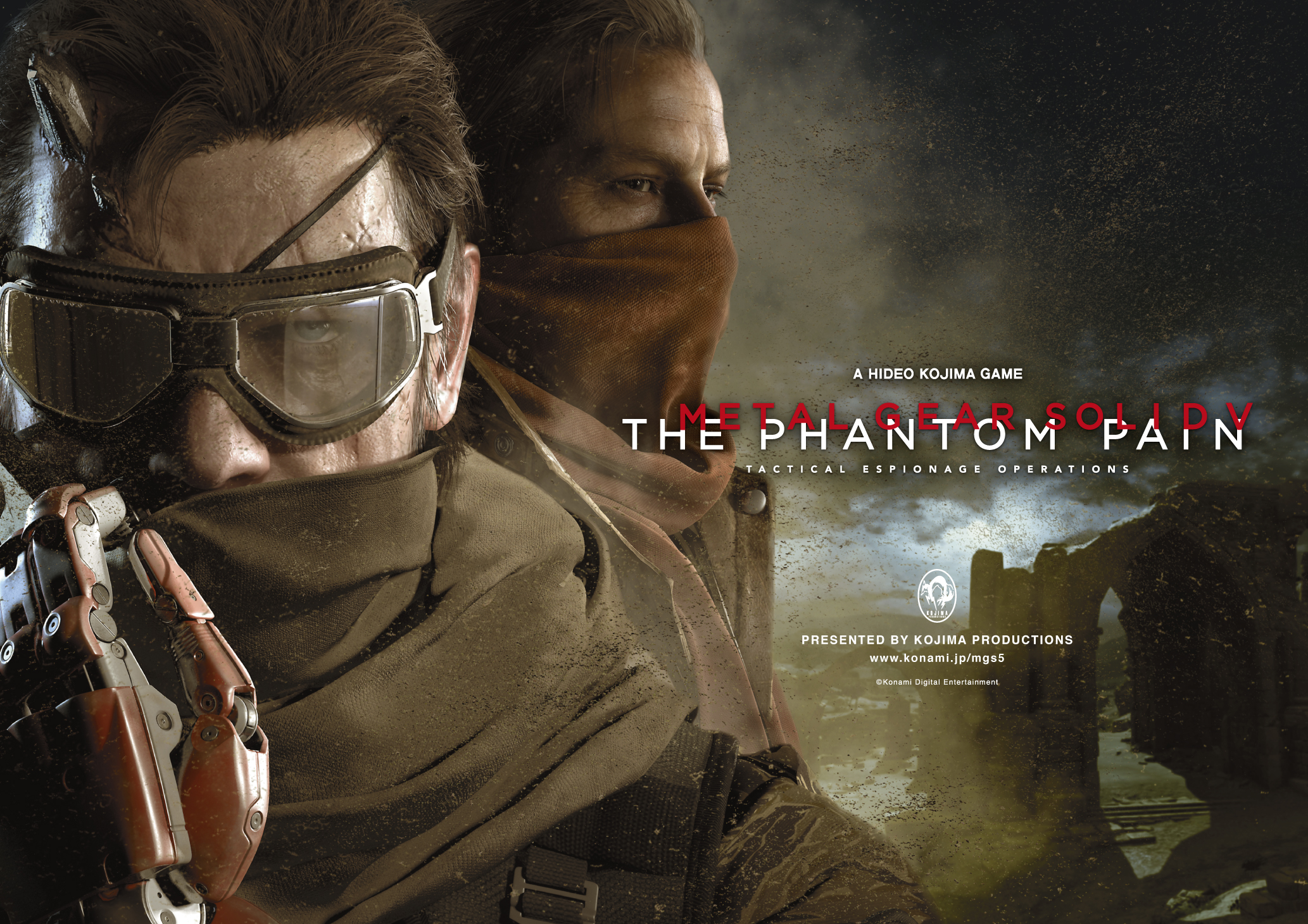 metal gear solid V the phantom pain-main-art-wide