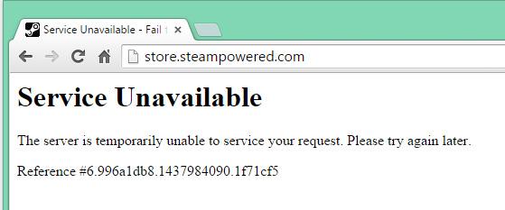steam error