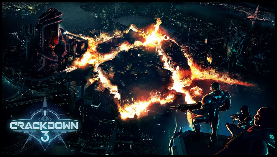 Crackdown 3 Teaser Art