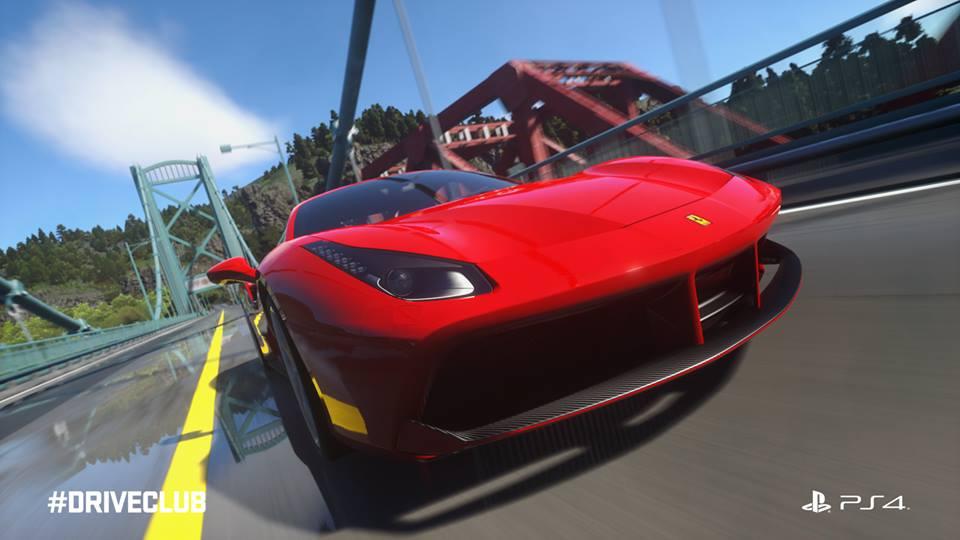 Driveclub Ferrari 488 GTB