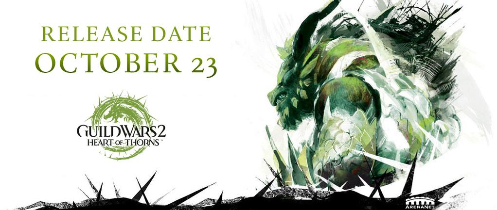 Guild Wars 2 Heart of thorns data di lancio