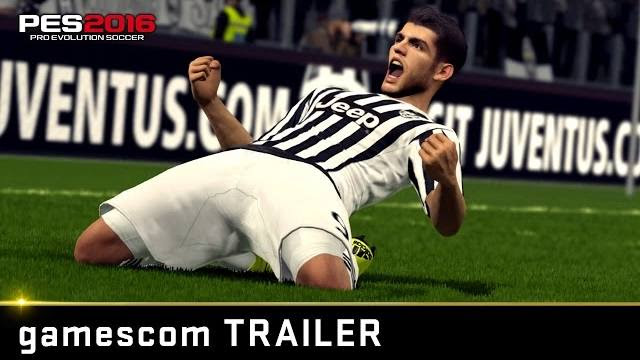 PES 2016 gamescom trailer
