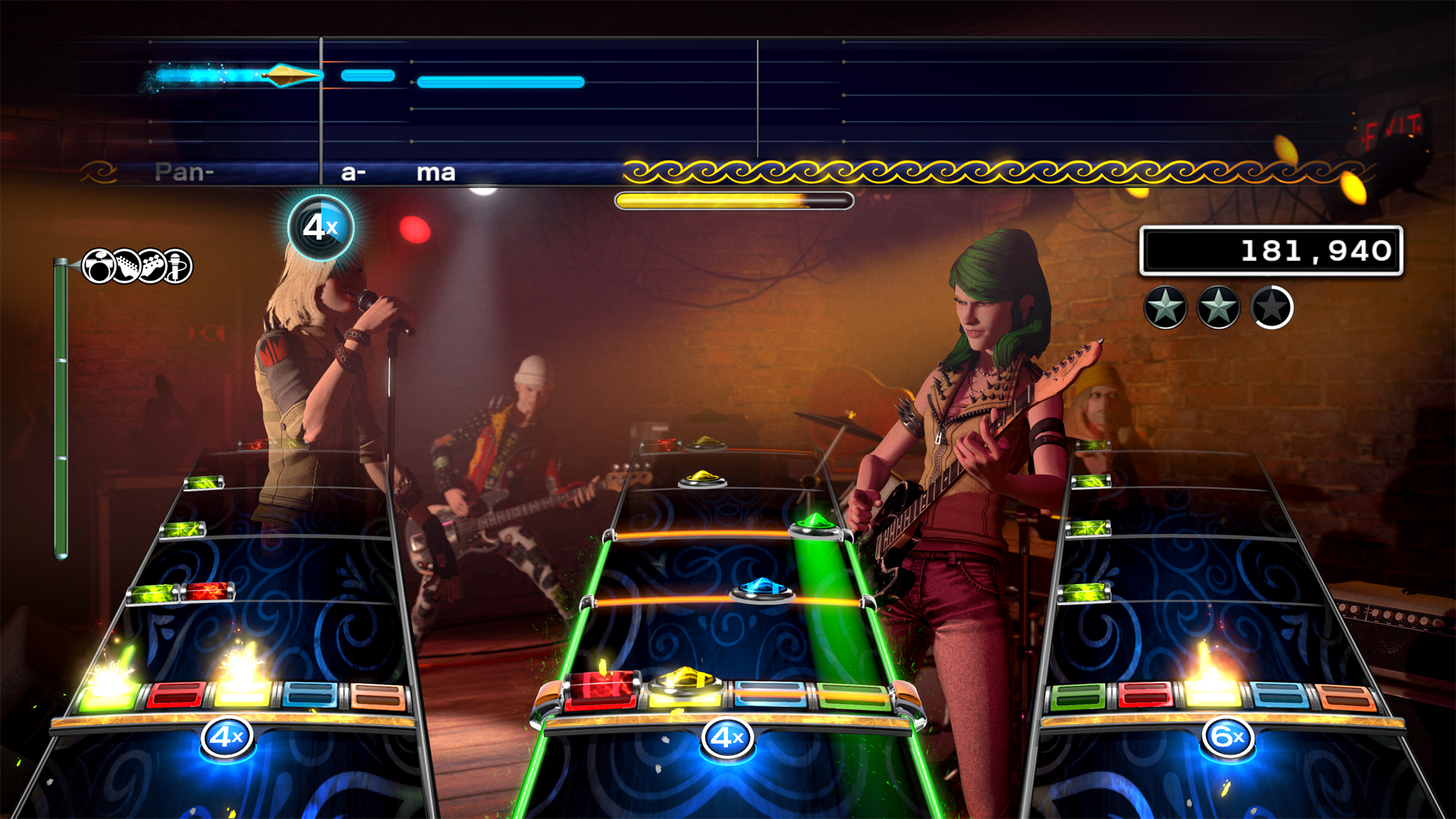 Rock Band 4 panama