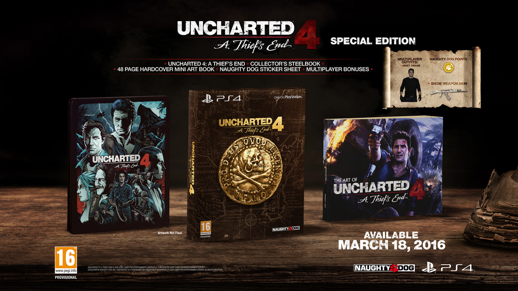 Uncharted 4 special edition