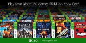 La lista dei primi 100 titoli Xbox 360 compatibili su Xbox One sarà svelata la settimana prossima