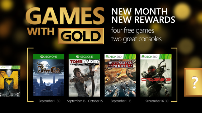 games-with-gold settembre